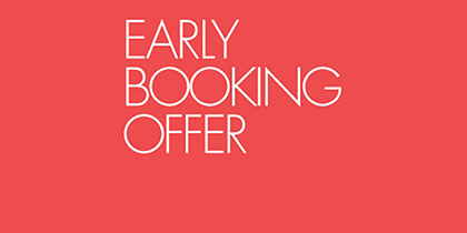 Book in Advance & Save Promotion